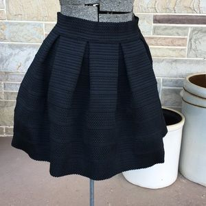 Express Textured Mini Skirt
